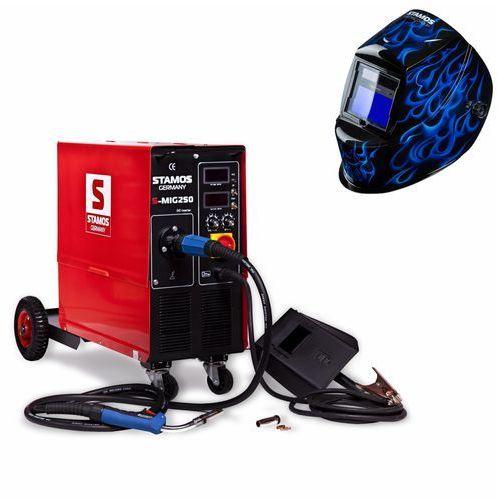Spawarka  s-mig 250 + maska spawalnicza wyprodukowany przez Stamos germany