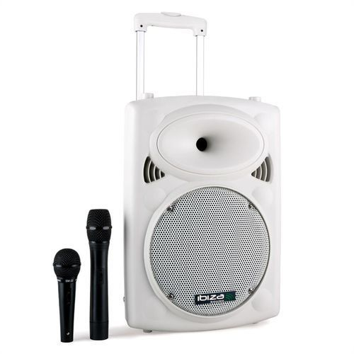 Ibiza PORT10VHF-BT Przenośna kolumna nagłośnieniowa USB-SD-MP