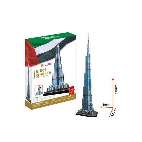 Neuveden Puzzle 3d burj khalifa - 136 dílků
