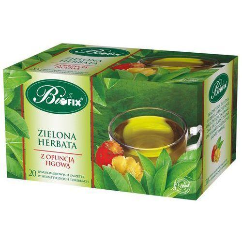 Herbata biofix zielona z opuncją a20 marki Bifix