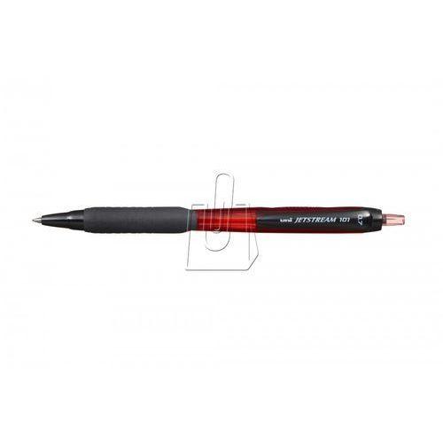 Długopis z wymiennym wkładem Uni długopis Jetsream czerwony (SXN-101)