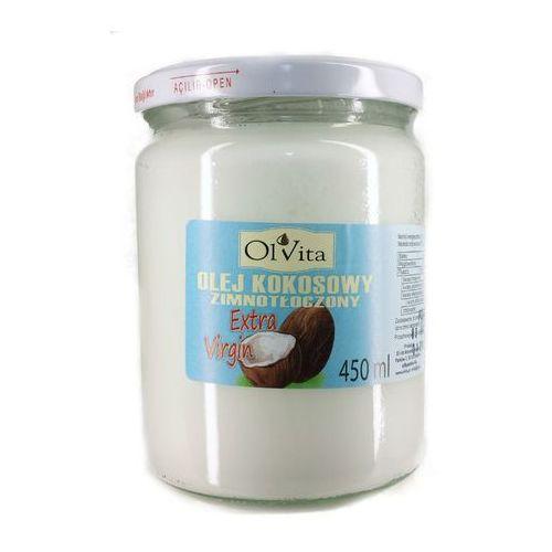 Olej Kokosowy tłoczony na zimno 450ml - Olvita (5907591923815)