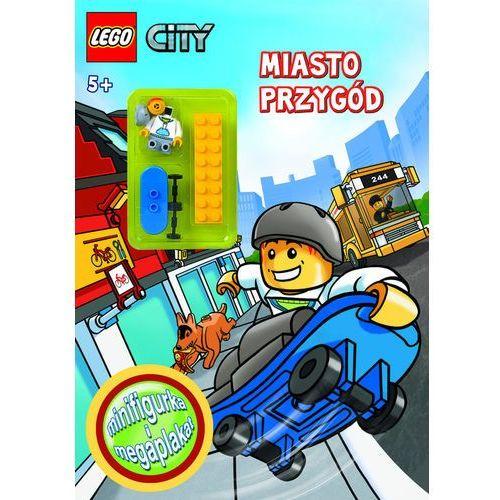 LEGO CITY. MIASTO PRZYGÓD, książka w oprawie broszurowej