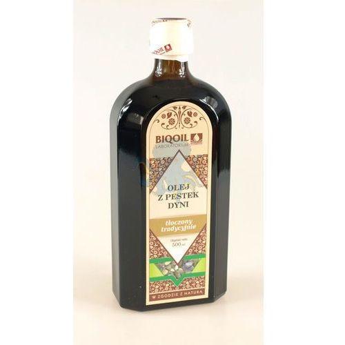 Olej z pestek dyni 500ml - 500ml (olej, ocet)