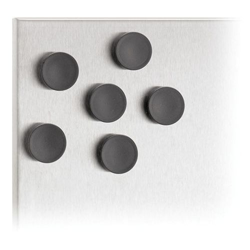 Blomus Zestaw 6 magnesów do tablicy - czarny - - work