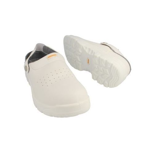 Klapki Medyczne Bennon White OB Slipper (Z30082) - produkt z kategorii- obuwie robocze