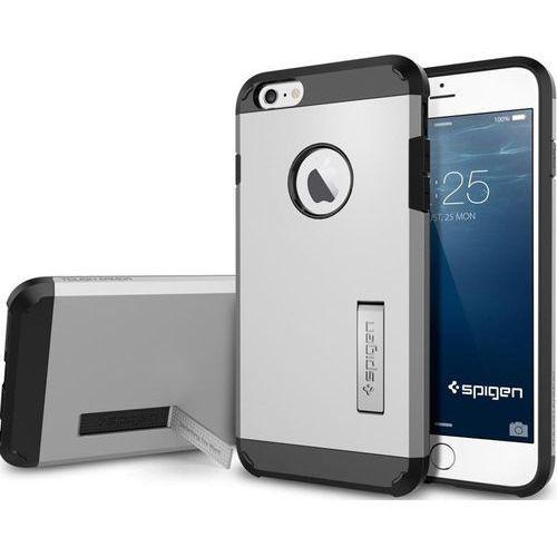 Sgp - spigen Oryginalne etui obudowa spigen sgp tough armor satin silver dla iphone 6 plus 5.5