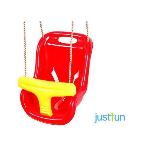 Huśtawka kubełkowa - czerwono-żółty, kup u jednego z partnerów