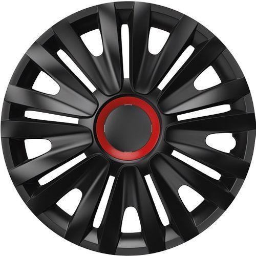 "Versaco kołpaki ROYAL Red Ring Black 4 sztuki, 15"" (8591673423279)"