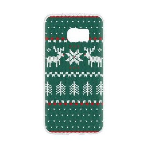 Etui case ugly xmas sweater do samsung galaxy s7 zielony (27387) marki Flavr