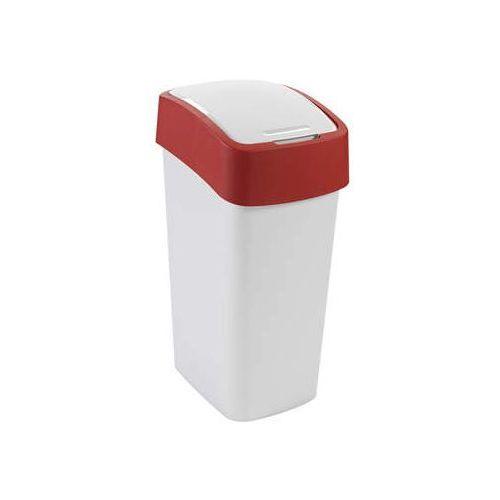 Kosz Flip Bin 50 l czerwony - produkt dostępny w InBook.pl