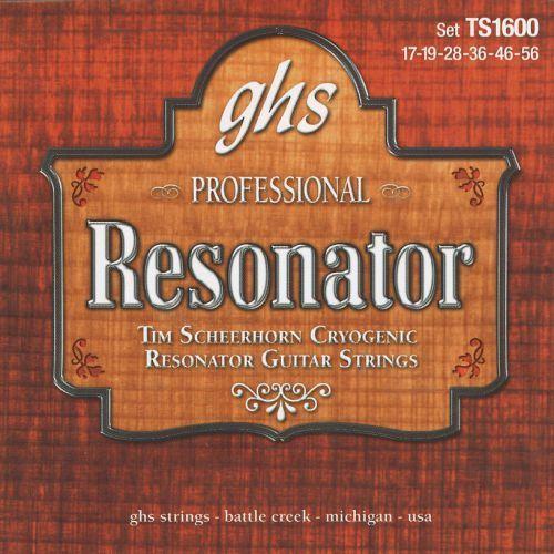 GHS Professional - Tim Seerhorn Signature. Resonator String Set,.017-.056