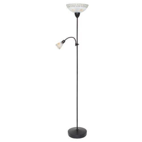 Lampa podłogowa stojąca etrusco 1x60w e27 + 1x40w e14 antyczny brąz 6968 marki Rabalux