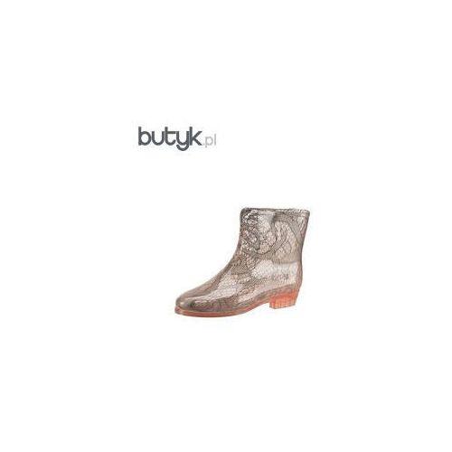 Botki Kalosze  Boots Socks 32034, Mel z Butyk.pl