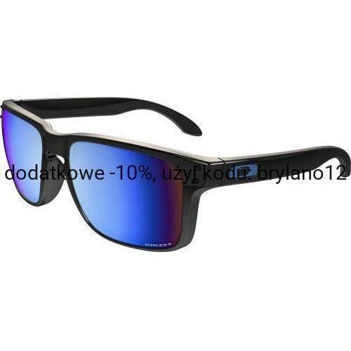 Okulary Oakley Holbrook Polished Black Prizm Deep H2O Polarized OO9102-C155, kolor czarny