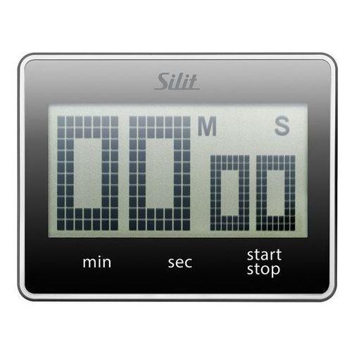 - minutnik cyfrowy attimo - czarny marki Silit