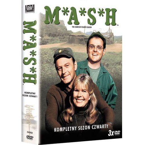 M.A.S.H. - sezon 4 (DVD) - Alan Alda. DARMOWA DOSTAWA DO KIOSKU RUCHU OD 24,99ZŁ