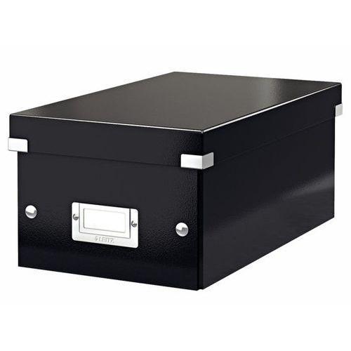 Leitz Pudło na dvd  click&store wow 6042 - czarne