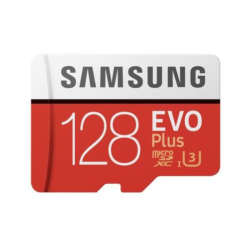 Samsung EVO Plus MB-MC128G 128GB MicroSDXC UHS-I Klasa 10 pamięć flash, MB-MC128GA/EU