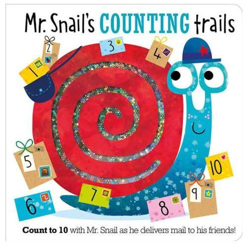 Mr. Snail's Counting Trails (9781786929204)