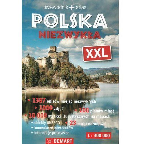 Polska niezwykła XXL Przewodnik + atlas (736 str.)