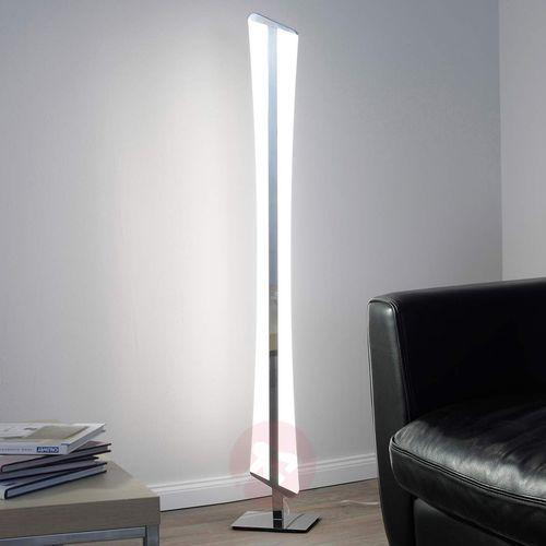 Lampa stojąca -riller led chrom, 2-punktowe - nowoczesny/design - obszar wewnętrzny - q-riller - czas dostawy: od 4-8 dni roboczych marki Paul neuhaus q