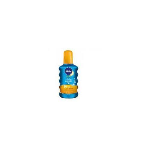Nivea sun protect & refresh spray do opalania spf 30 (invisible cooling sun spray) 200 ml (4005808862849)