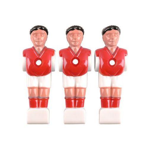 Zapasowa figurka do stołu do gry w piłkarzyki Spartan Paili (do tyczek 13 mm)m tyč), Czerwony (8596084060099)