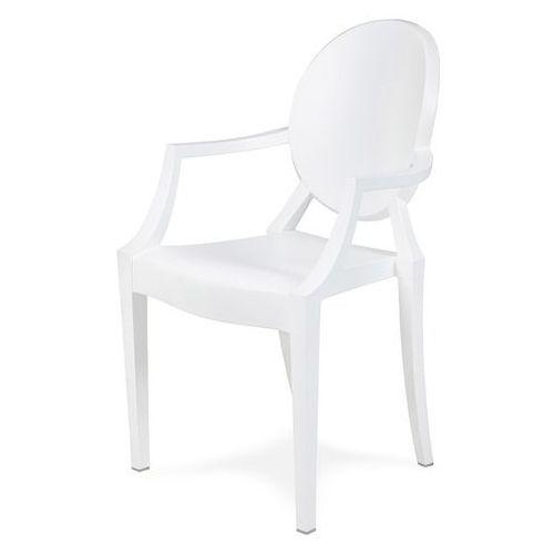 Krzesło LOUIS mat białe PC-099P.BIALY - King Home - Sprawdź kupon rabatowy w koszyku (5900168810686)