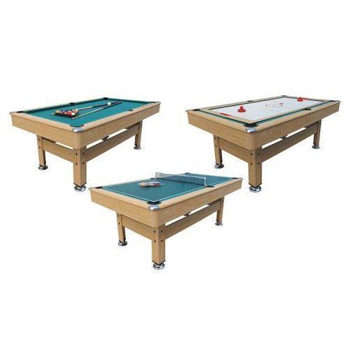 Axer sport Stół bilardowy 3 w 1- bilard, cymbergaj, tenis (5907763030167)