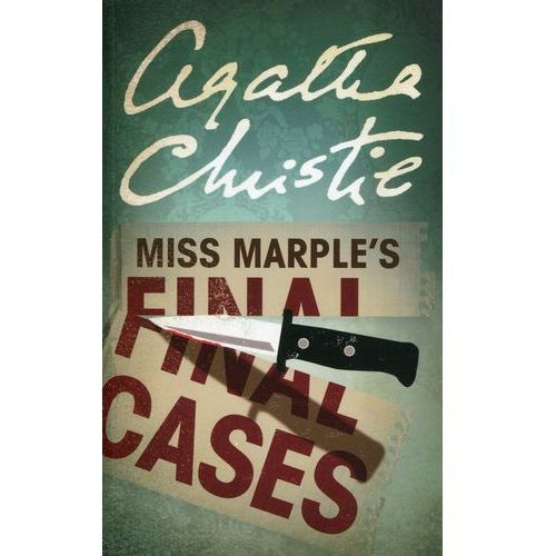 Miss Marple's Final Cases, oprawa miękka