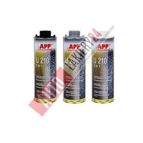 APP Preparat do ochrony karoserii przed uderzeniami kamieni + masa natryskowa U210 1L czarny, app