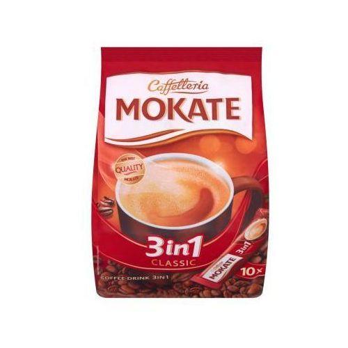 Mokate Napój kawowy rozpuszczalny caffetteria 3in1 classic a'10 180 g