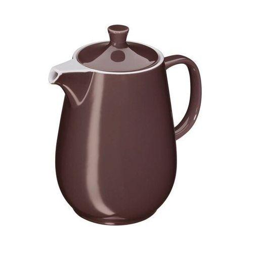 - roma - dzbanek do kawy - 1,2 l - brązowy marki Cilio
