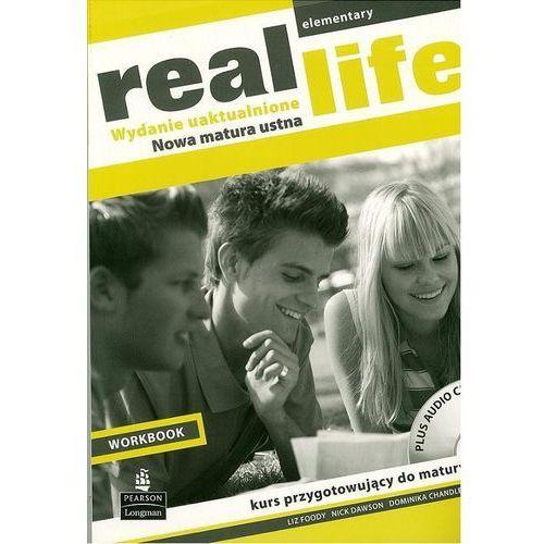 Real Life Elementary Workbook + CD (wydanie uaktualnione) Longman (112 str.)