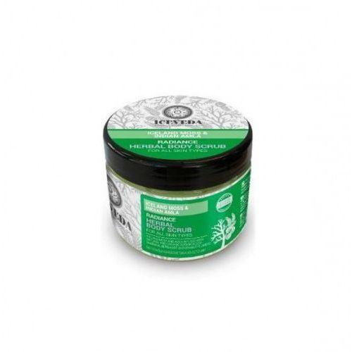 Iceveda Roświetlający ziołowy scrub do ciała z płucnicą islandzką i amlą indyjską, 300ml -