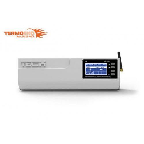L-8 Tech bezprzewodowy sterownik zaworów termostatycznych (8 sekcji) do ogrzewania podłogowego z Internetem, 086C-199D1