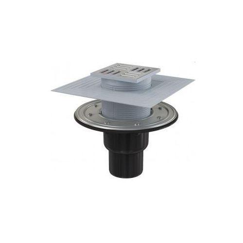 Kratka ściekowa 105x105 mm odpływ pionowy Alcaplast APV4344 - produkt dostępny w kaczucha.pl