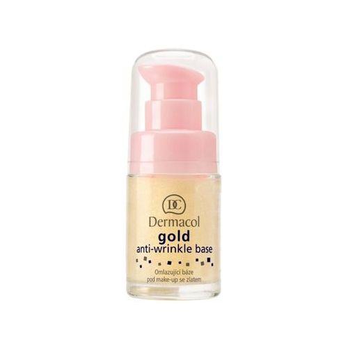 Dermacol gold anti-wrinkle base | odmładzająca baza pod makijaż ze złotem 15ml (85963856)