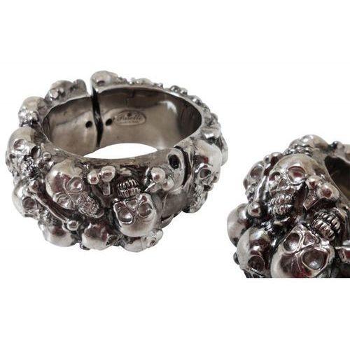 Pasotti Mosiężna bransoletka br k20 - gothic skull bracelet