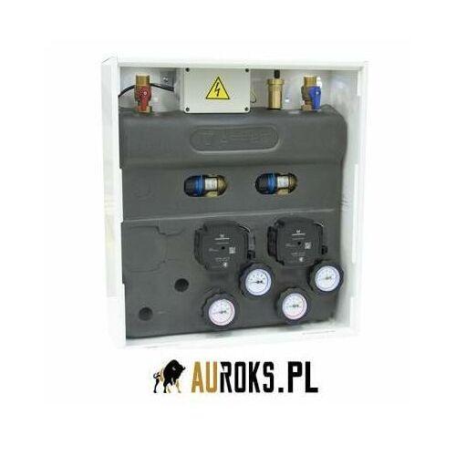 zestaw mieszający primobox azb 211 w szafce, 2 x zawór termostatyczny atm 561 marki Afriso