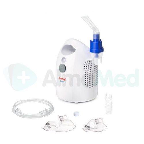 Medel Inhalator family evo *przyspieszona nebulizacja* *nowy ulepszony silnik* *najnowszy model* (8057017951179)