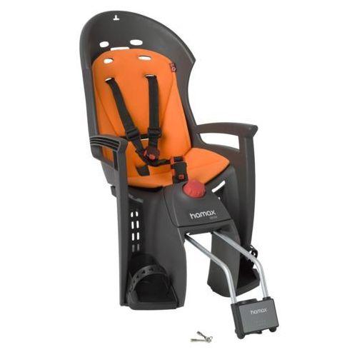 Hamax siesta fotelik dziecięcy szary/pomarańczowy mocowania fotelików dziecięcych (7029775525023)