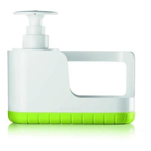 Guzzini - tidy & clean - organizer do zlewu z dozownikiem, zielony