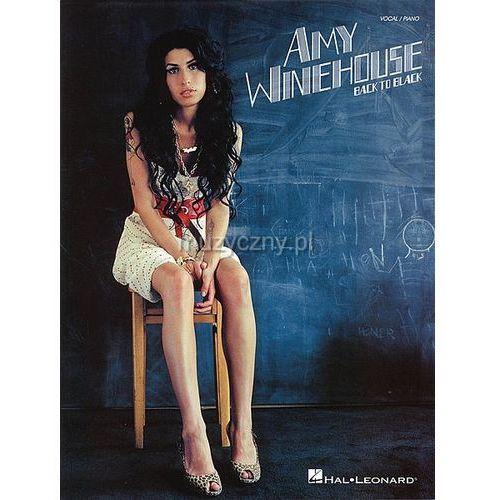 amy winehouse - back to black (utwory na fortepian, wokal i gitarę) marki Pwm
