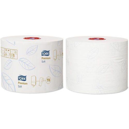Papier toaletowy do dozownika z automatyczną zmianą rolek Tork Mid-size 2 warstwy 90 m biały miękki