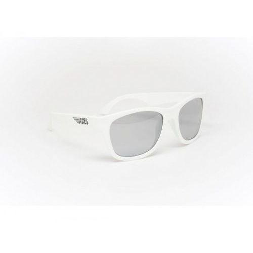 Babiators Aces Navigator Okulary przeciwsłoneczne dla dzieci (07-14) Białe/Lustrzane szkła