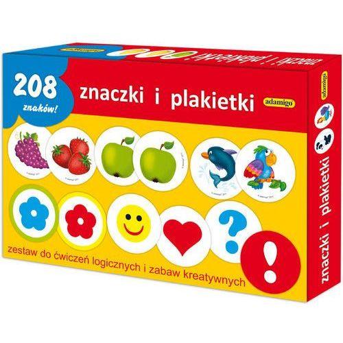 Adamigo Znaczki i plakietki - zestaw edukacyjny