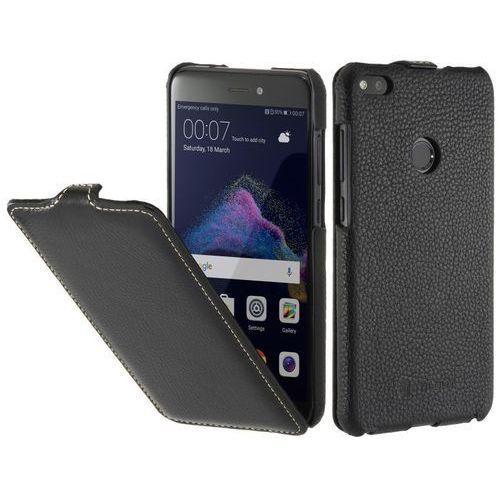 Stilgut UltraSlim Czarny | Etui z klapką dla modelu Huawei P8/P9 Lite 2017