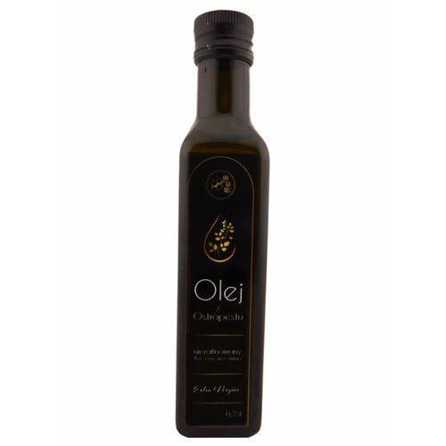 Olej z Ostropestu Tłoczony Na Zimno Extra Vergine Szklane Opakowanie 250 ml